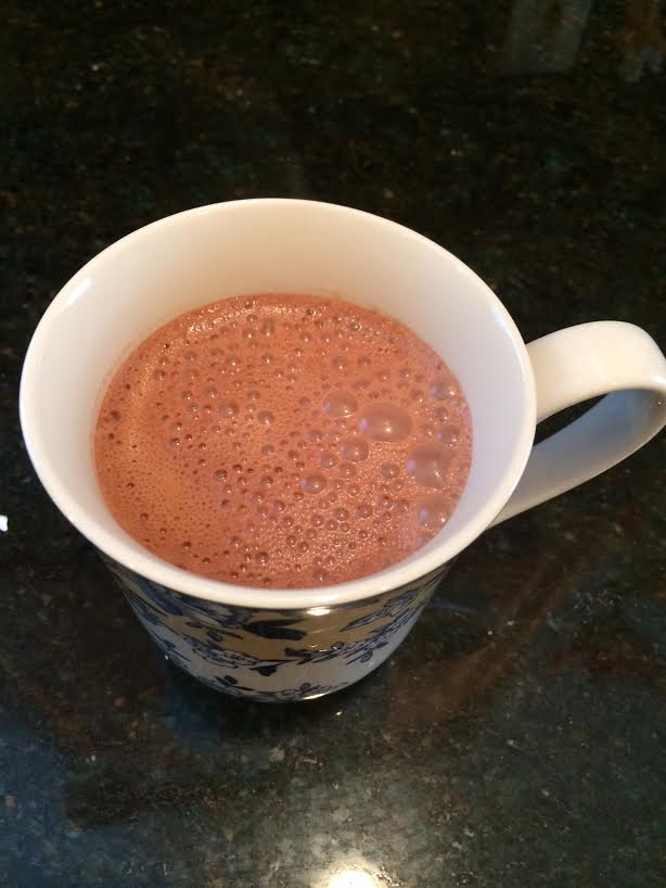 rich dark hot chocolate