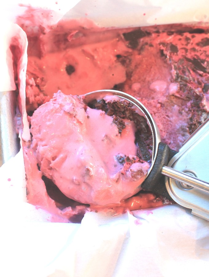 paleo blackberry chip ice cream