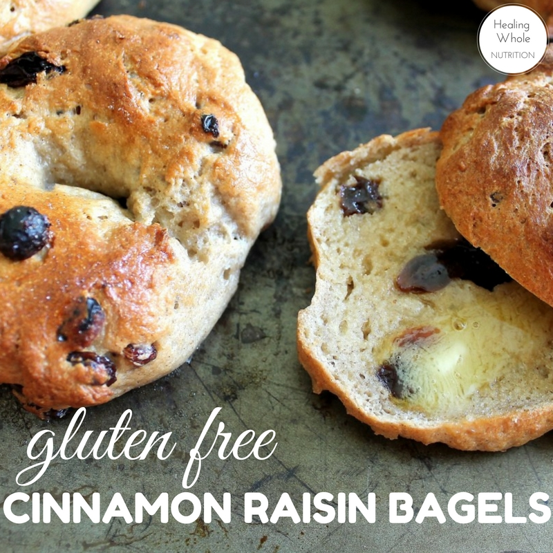 Cinnamon Raisin Bagels Recipe — Dishmaps