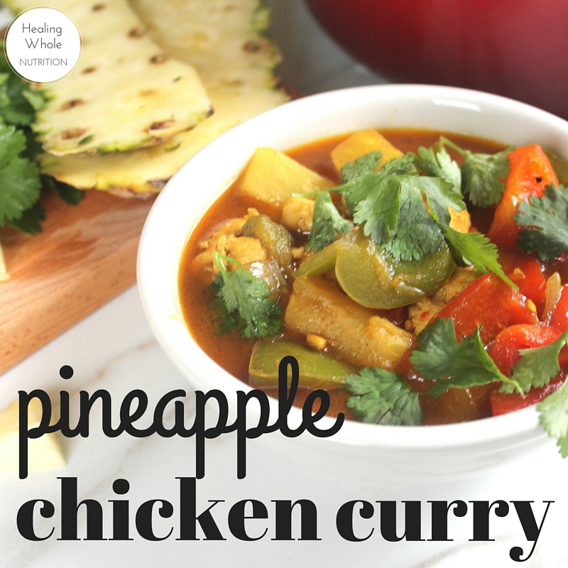 My new favorite curry! Sweet, spicy, and oh so satisfying.