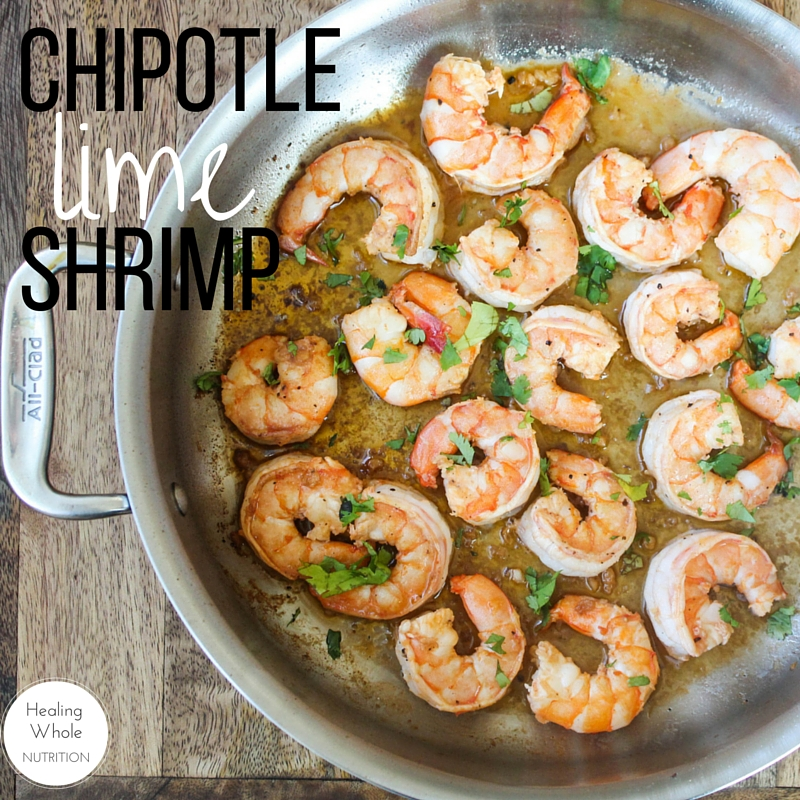 These flavorful chipotle lime shrimp are easy, quick and one of my new ...