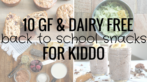 10 healthy back to school snacks for kiddo
