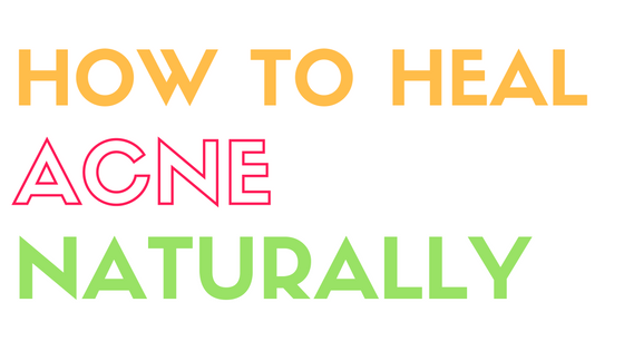 healing acne naturally