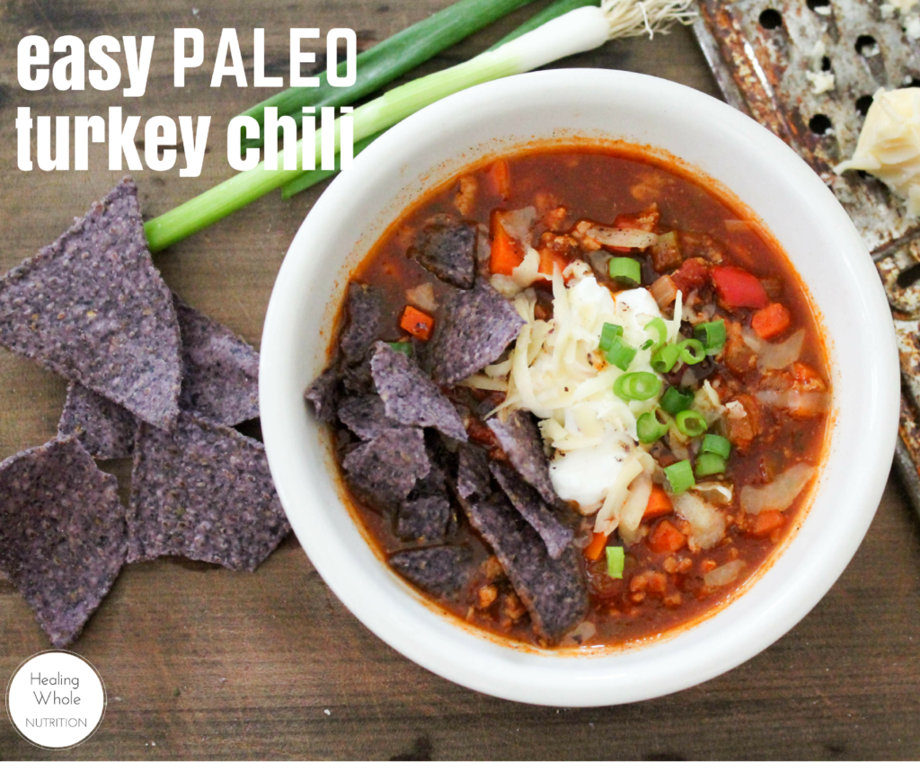 Easy Paleo Turkey Chili